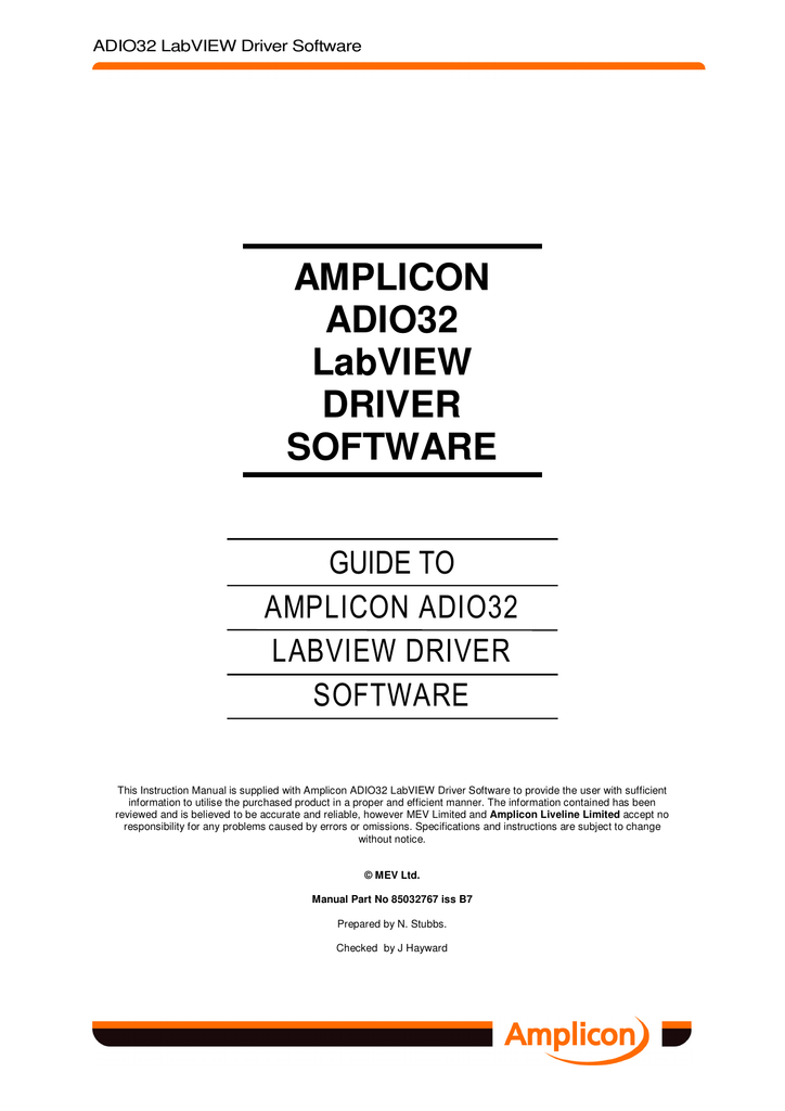 AMPLICON PCI224 DRIVERS FOR WINDOWS XP
