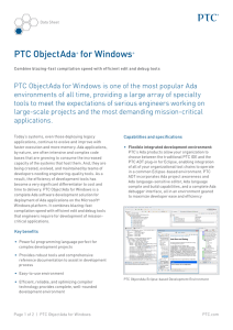 PTC ObjectAda® for Windows