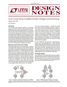 DN407 - Dual Current-Sense Amplifiers Simplify H