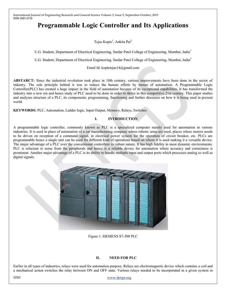 Programmable Logic Controller And Its Applications Ladder Programs Internal Relays Controllers 018696553 1 4e77e7041ca3adb66db421a17199e19d