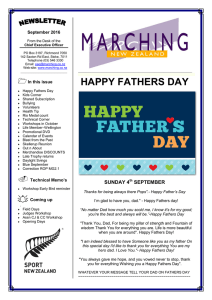 HAPPY FATHERS DAY - Marching New Zealand