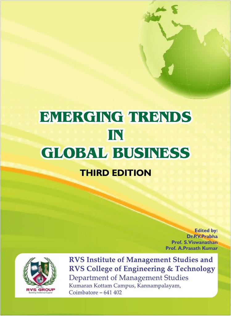 Third Edition Rvs Institute Of Management Studies