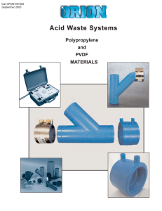 Acid Waste Systems