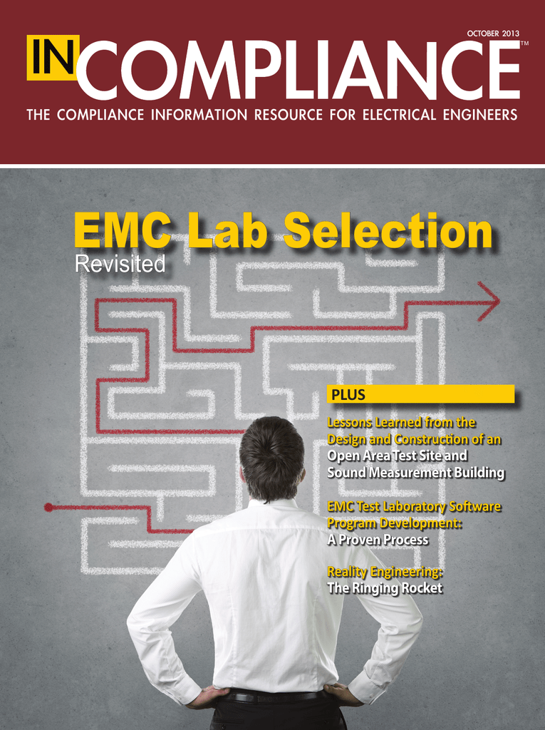 EMC Lab Selection - In Compliance Magazine