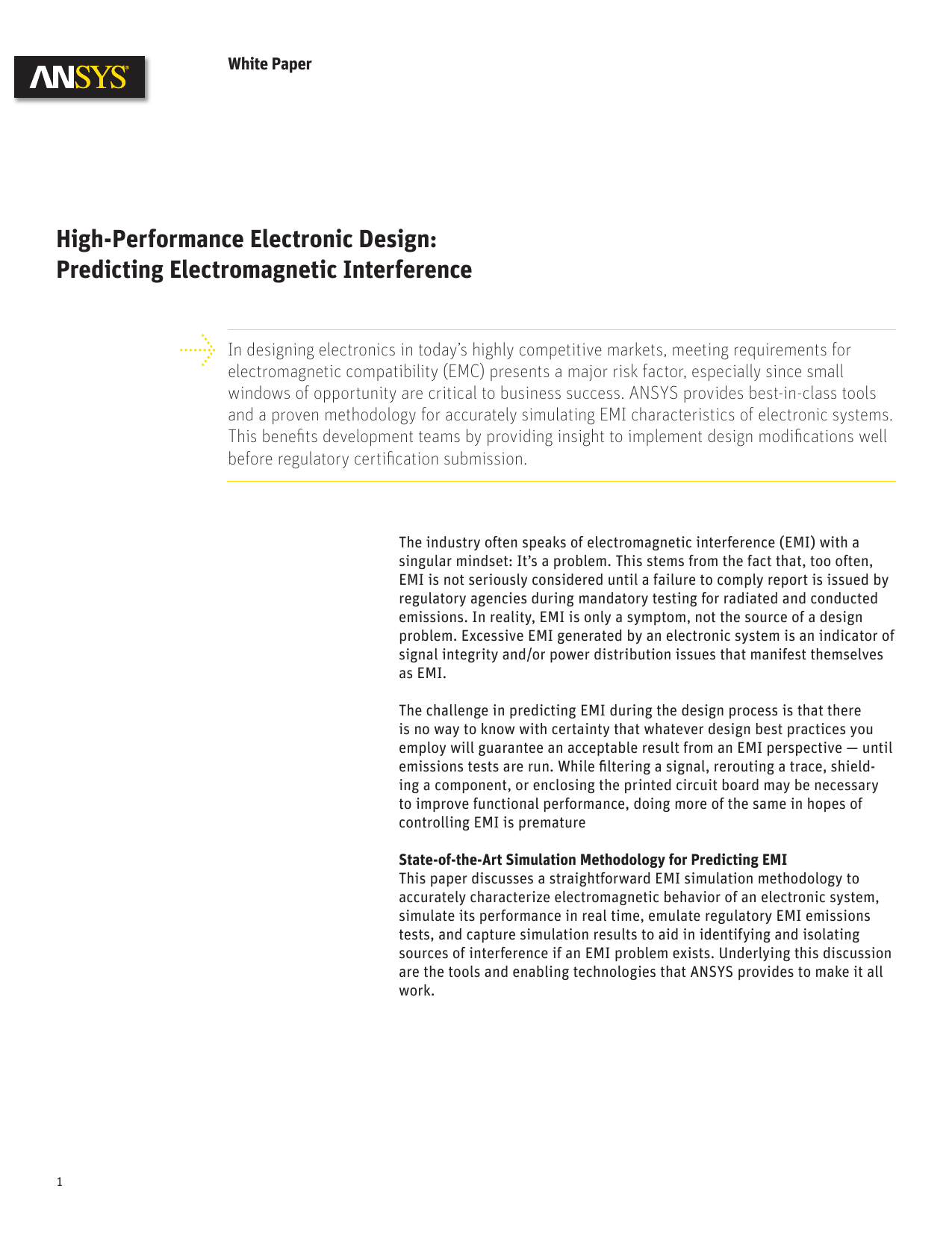 High Performance Electronic Design Predicting