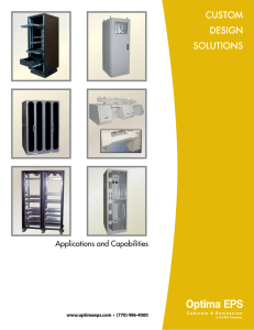 Applications and Capabilities Brochure