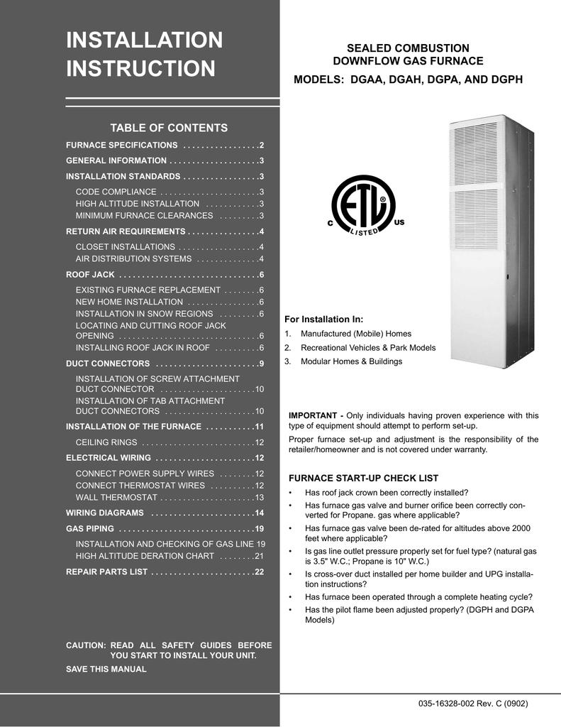 Coleman 025-35354-000 Furnace Burner Flame Sensor