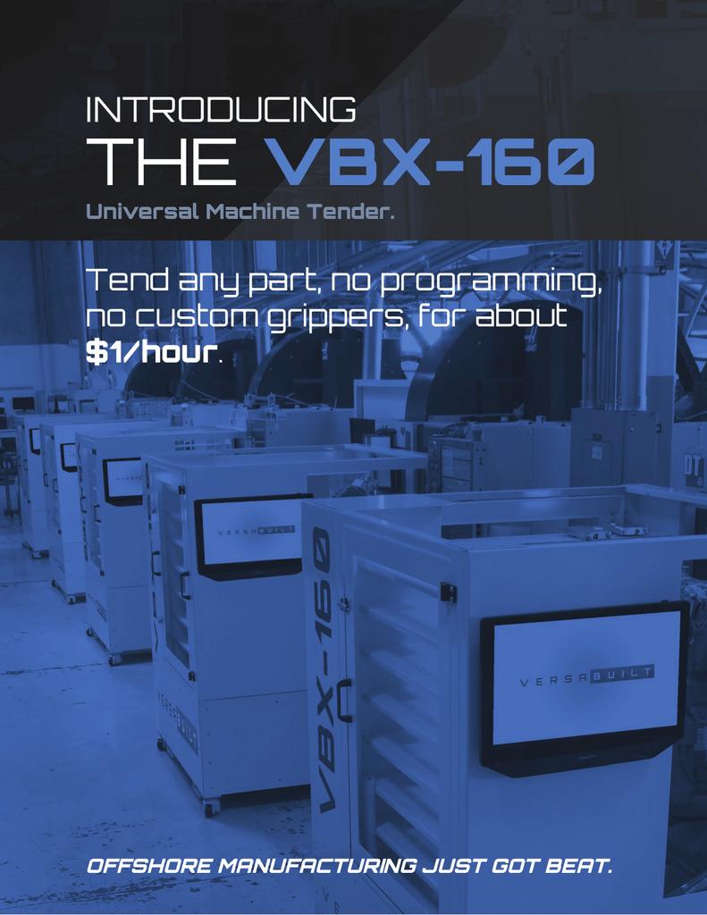 Versabuilt VBX-160 Datasheet