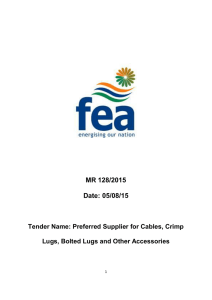 MR 128/2015 Date: 05/08/15 - Fiji Electricity Authority
