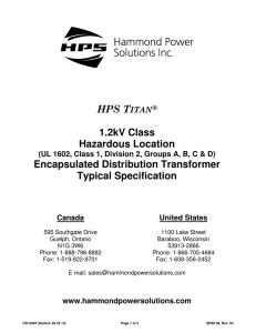 PART 1 – GENERAL - Hammond Power Solutions Hammond Transformer Wiring Diagrams on