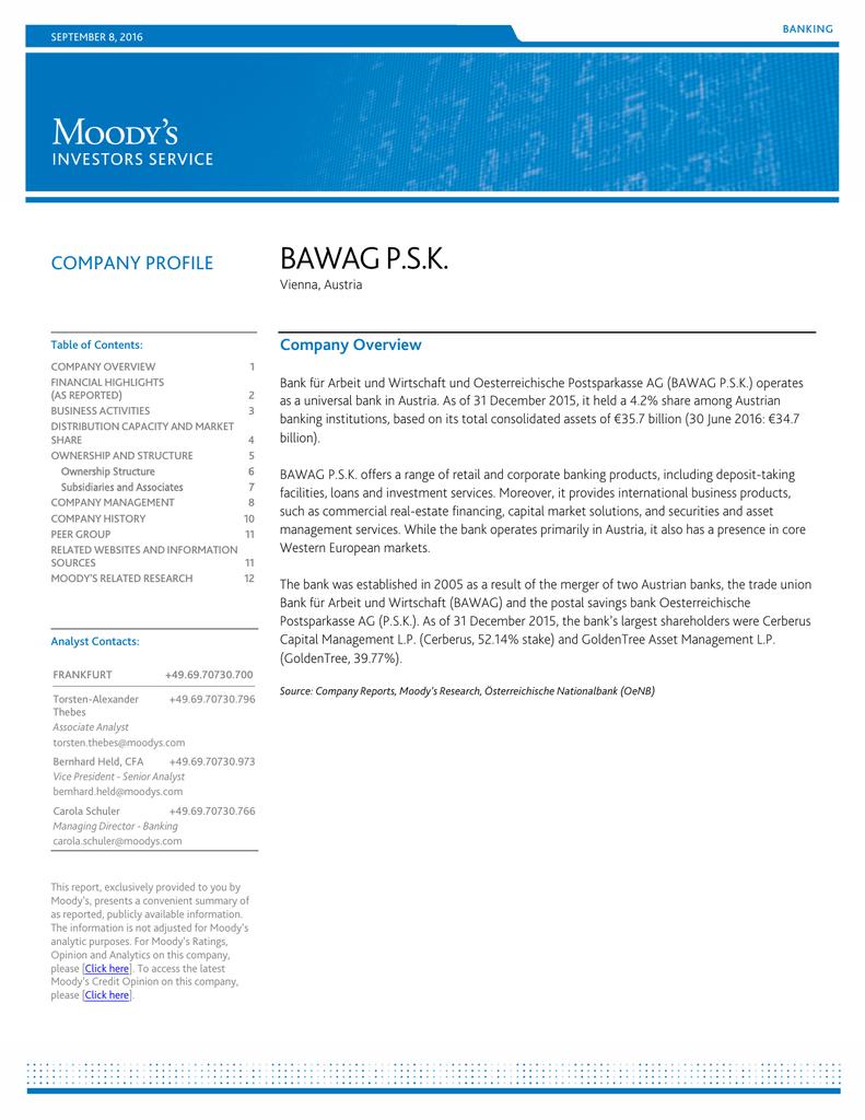 Company Profile Bawag Psk