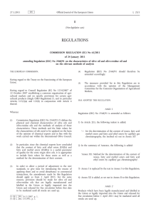 Commission Regulation (EU) No 61/2011 of 24 January 2011