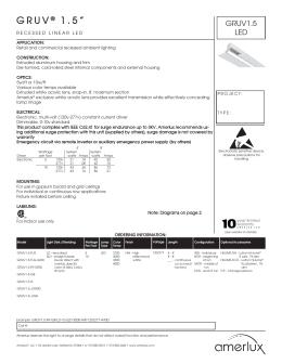 LIT-1494 GRUV1.5 LED 0814.indd  sc 1 st  studylib.net & 12BLSD - Peachtree Lighting azcodes.com