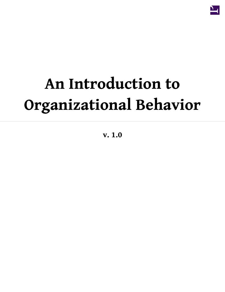 An introduction to organizational behavior 0187035751 fcdfa05f721e45c810b99544d7323a2bg fandeluxe Image collections