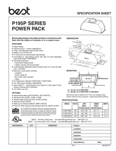 P195P SERIES POWER PACK