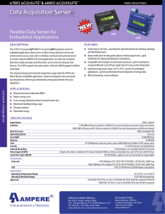 Data Acquisition Server