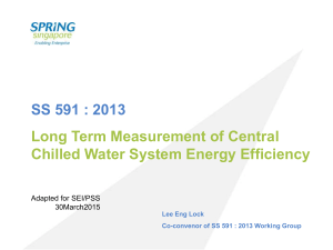 Long Term Measurement of Central Chilled Water System Energy