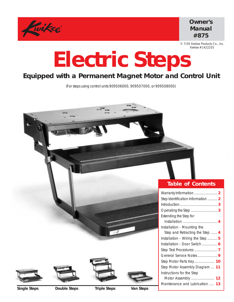 Electric Steps Kwikee Step Wiring Diagram 28 018705788 1 Effd0b7b0c50ff17a9fd8b5d16419aa1