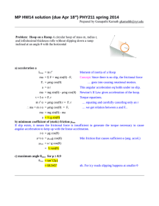 MP HW14 solution (due Apr 18st) PHY211 spring 2014