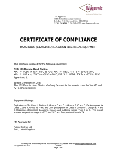 3054426 Certificate of Compliance