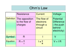 Ohm`s law