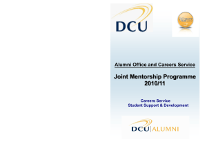 Mentorship Brochure - Publisher