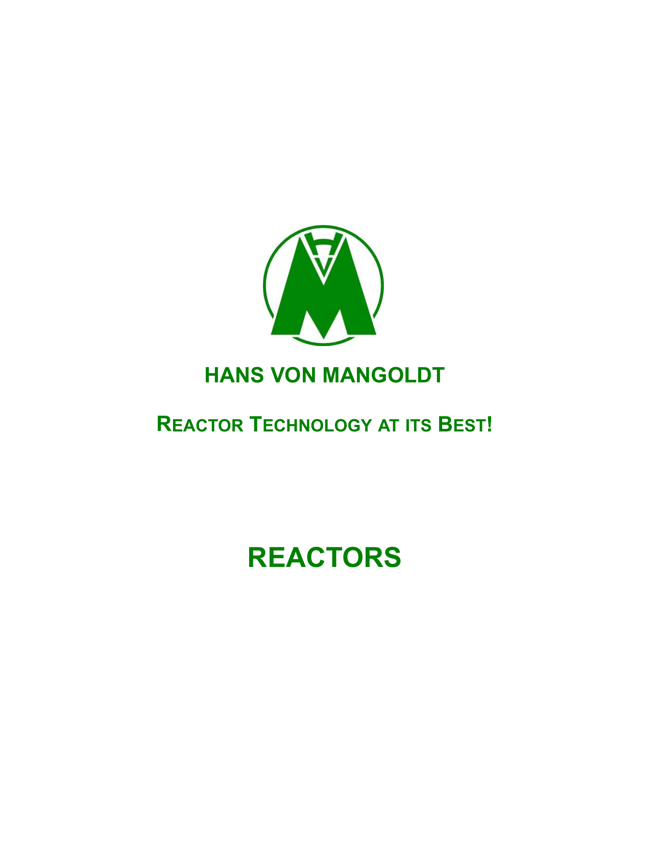 reactors - Allied Industrial Marketing