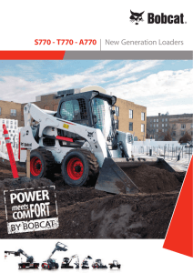 S770 - T770 - A770 | New Generation Loaders