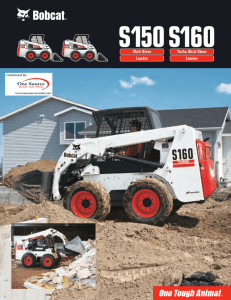 BOBCAT 553 Specification PDF data sheet