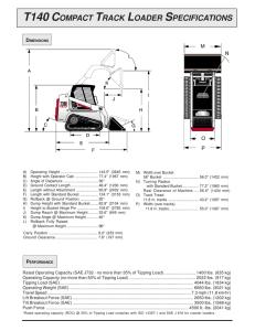 s130 skid-steer loader specifications