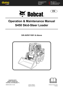t590 compact track loader specifications