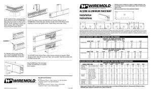 Wiremold® Pathways