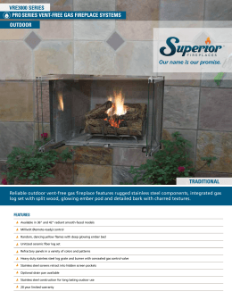 Product Brochure - Superior Fireplaces