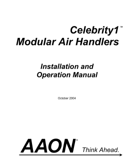 complete aaon product line