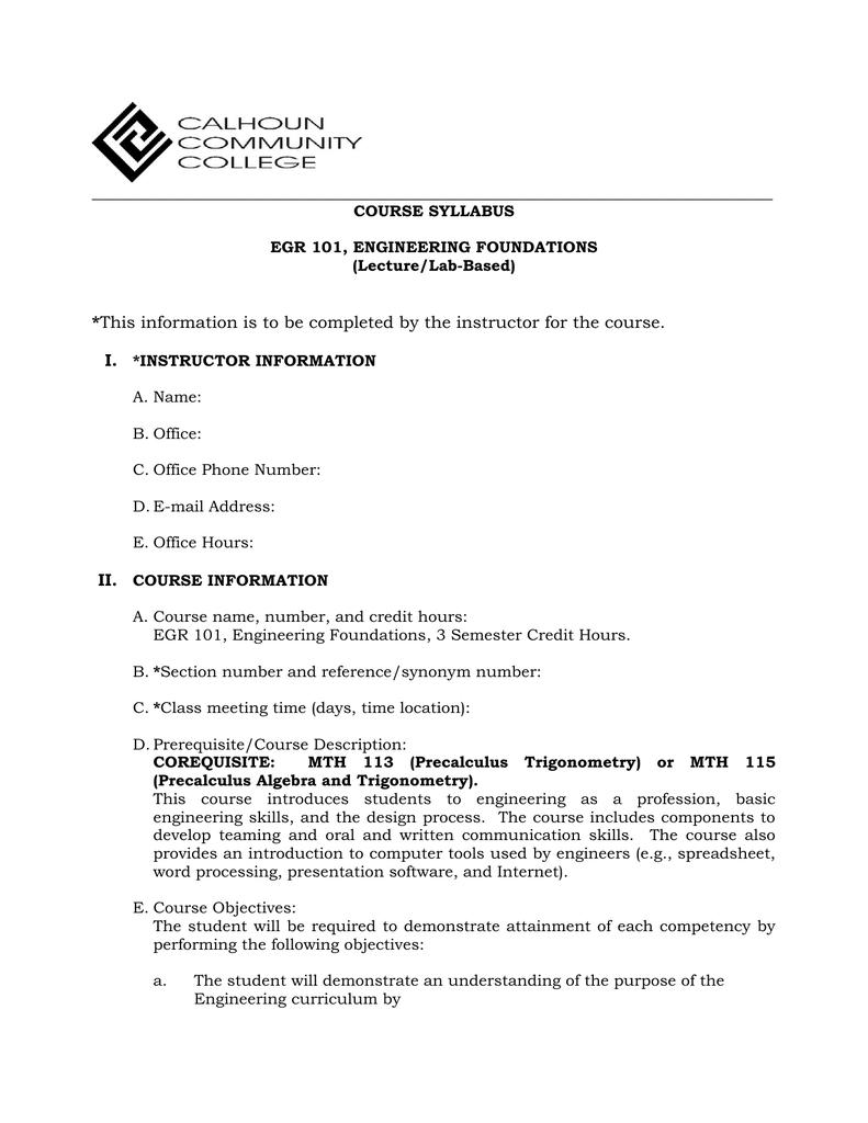 pdf version - Calhoun Community College