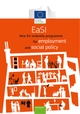 EaSI - New EU umbrella programme for employment