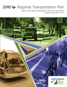 2040 regional transportation plan