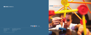 2012 annual report - Children`s Hospital of Orange County