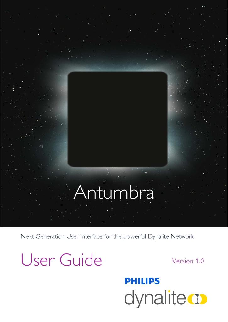 Antumbra User Guide 1 0 Version G Pdf
