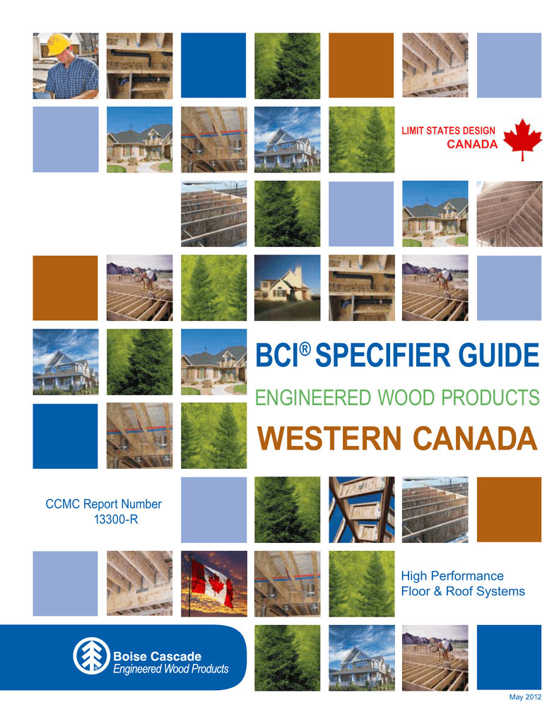 Bci Specifier Guide