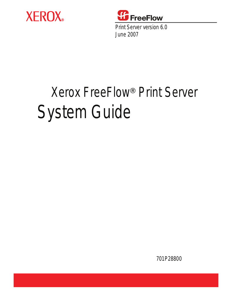 System Guide - Xerox Support and Drivers