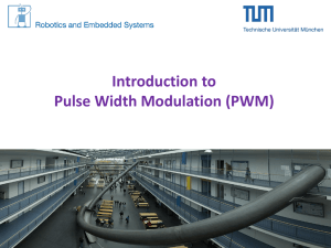 Introduction to Pulse Width Modulation (PWM)