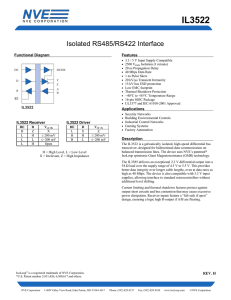 IL3522 Product Data Sheet