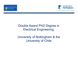 Double Award PhD Degree in Electrical Engineering: University of