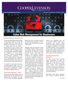 Cyber Risk Management For Businesses