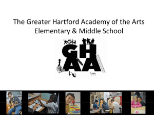 The Greater Hartford Academy of the Arts