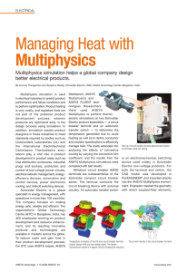 Managing Heat with Multiphysics