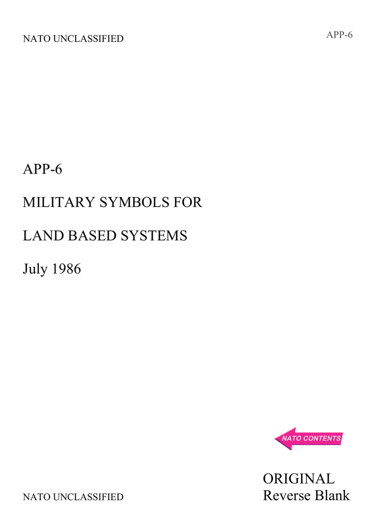 App 6 Military Symbols For Land Based