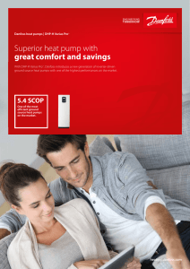 Superior heat pump with great comfort and savings