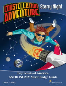 Boy Scouts of America ASTRONOMY Merit Badge Guide